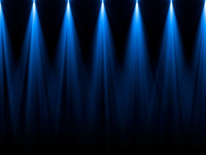 STAGE LIGHTS BLUE STRAIGHT