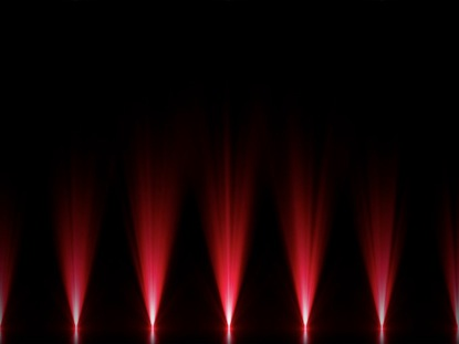 STAGE LIGHTS RED FLOOR