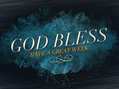 WINTER FREEZE GOD BLESS