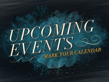 WINTER FREEZE UPCOMING EVENTS