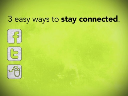 3 EASY WAYS TO STAY CONNECTED