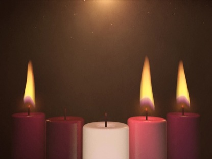 Advent Candle Background Advent Candles Week 3
