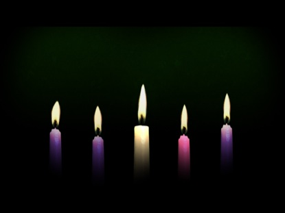 Advent Candle Background Advent Christ Candle