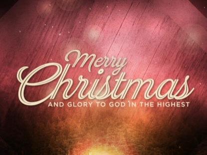 CHRISTMAS BOKEH TITLE