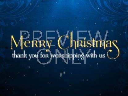 CHRISTMAS EVE CLOSING
