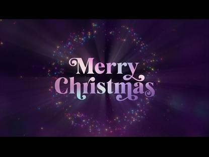 CHRISTMAS GLOW MERRY CHRISTMAS
