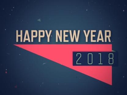CONFETTI HAPPY NEW YEAR 2018