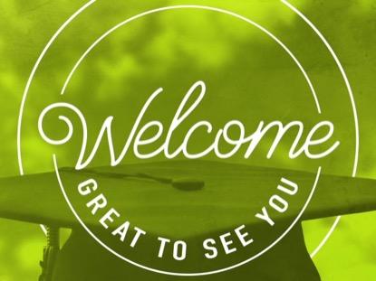 CONGRATULATIONS GRADUATES WELCOME GREEN