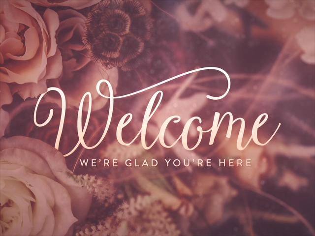 ELEGANT FLOWERS WELCOME