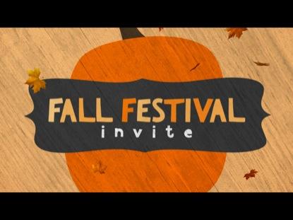 FALL FESTIVAL INVITE