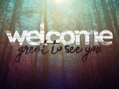 FALL FOREST WELCOME
