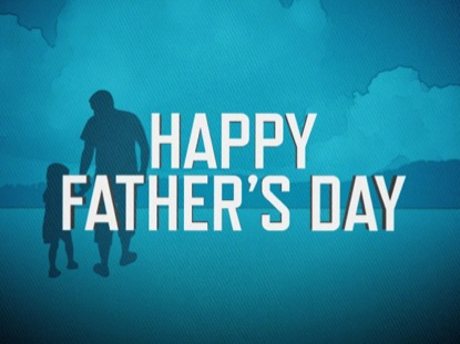 FATHER'S DAY BLUE WELCOME