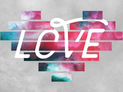 GEO CLOUDS HEART LOVE