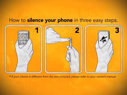HOW TO SILENCE YOUR PHONE