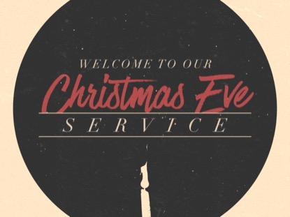 MODERN ADVENT TITLE CHRISTMAS EVE