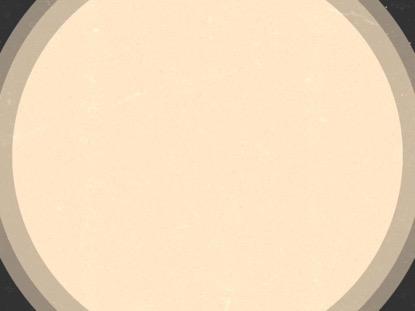 MODERN ADVENT WHITE CIRCLES