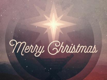 MODERN RETRO CHRISTMAS EVE MERRY