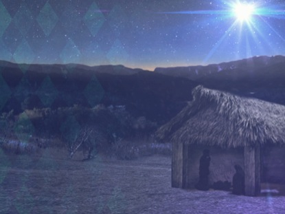 NATIVITY SCENE VINTAGE WORSHIP LOOP