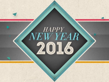 NEW GEOMETRIC NEW YEAR 2016