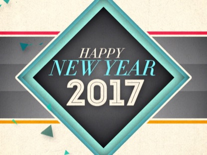 NEW GEOMETRIC NEW YEAR 2017