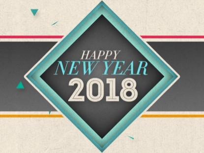 NEW GEOMETRIC NEW YEAR (2018)
