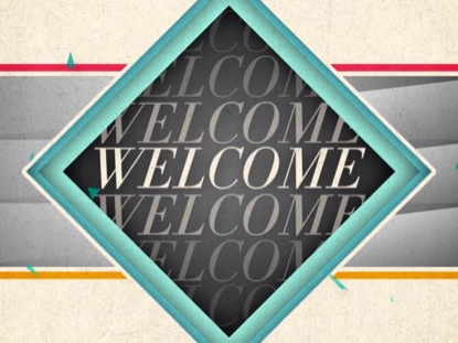 NEW GEOMETRIC WELCOME