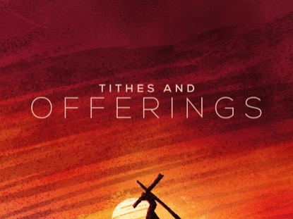 PAINTED GOOD FRIDAY TITHES