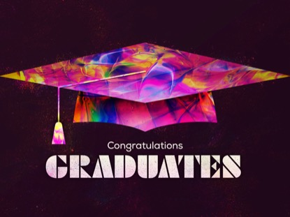 PAINTED GRADUATION TITLE ANIMATED