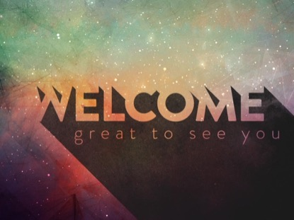 PAINTED UNIVERSE WELCOME