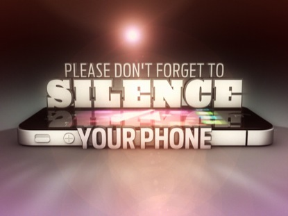 SILENCE YOUR PHONE MOTION