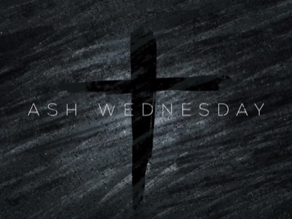 SKETCHED DUST ASH WEDNESDAY