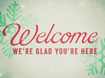 SNOW LIGHT CHRISTMAS WELCOME