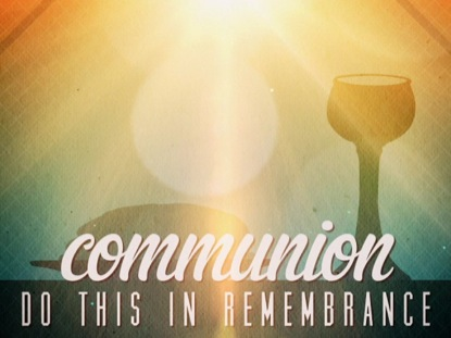 SUMMERTIME COMMUNION TITLE
