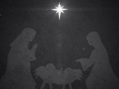 VINTAGE CHRISTMAS EVE MANGER 01