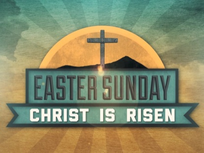 VINTAGE EASTER SUNDAY TITLE