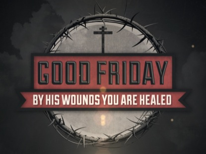 VINTAGE GOOD FRIDAY TITLE