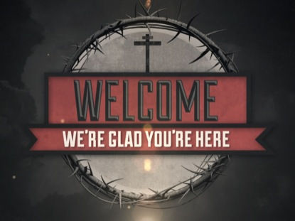VINTAGE GOOD FRIDAY WELCOME