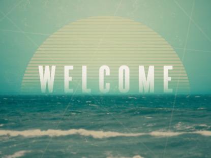 VINTAGE OCEAN WELCOME