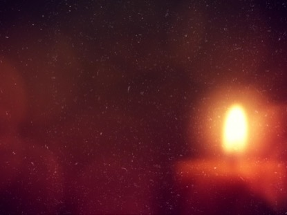 WARM ADVENT GLOW CANDLE 04