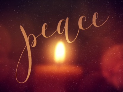 WARM ADVENT GLOW PEACE