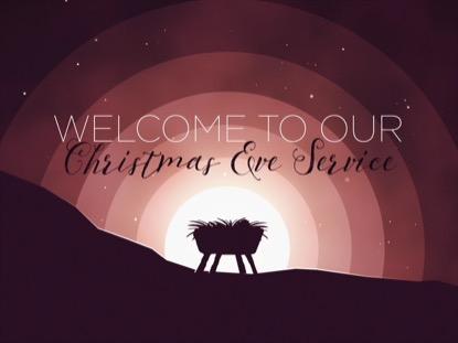 WINTER NIGHT MANGER CHRISTMAS EVE