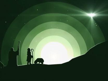 WINTER NIGHT SHEPHERD
