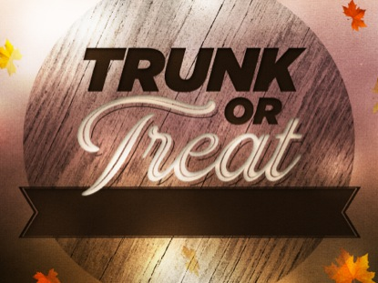 WOODGRAIN TRUNK OR TREAT