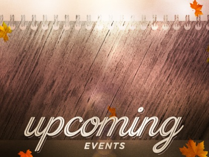 WOODGRAIN UPCOMING EVENTS