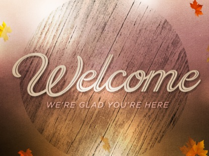 WOODGRAIN WELCOME