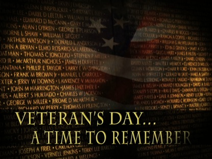 A TIME TO REMEMBER VETERANS MOTION