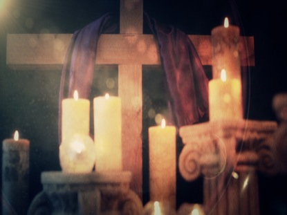 EASTER CANDLE 4