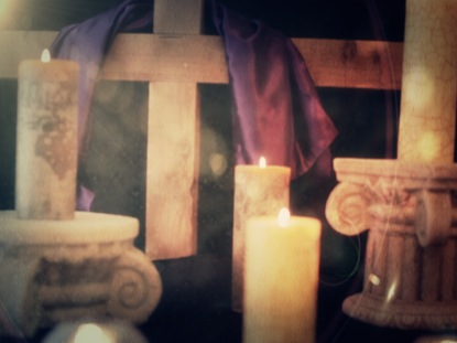EASTER CANDLE 6