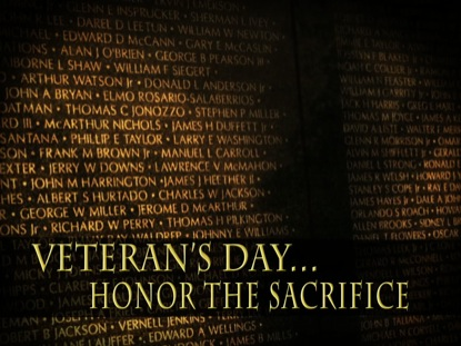 HONOR THE VETERAN'S SACRIFICE MOTION