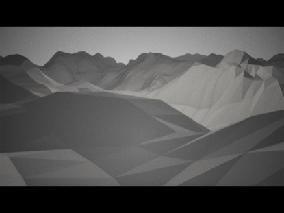 SIMPLE MOUNTAIN FLY THROUGH